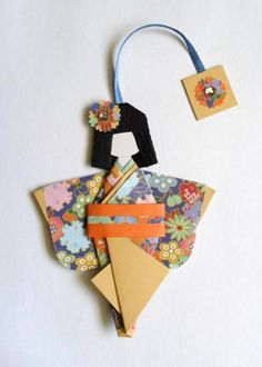 Marque-page kokeshi - Mes plus beaux (e)ffets