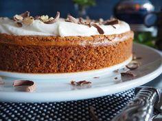 Toves sjokolade- og mandelkake – glutenfri brownie Vanilla Cake, Brownies, Goodies, Gluten, Cakes, Food, Easy, Cake Brownies, Sweet Like Candy