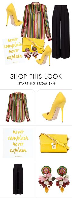 """""""Untitled #55"""" by amela83 ❤ liked on Polyvore featuring N°21, Jimmy Choo, Dolce&Gabbana and Miss Selfridge"""