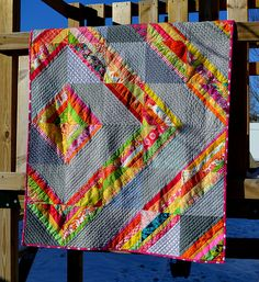 string/HST WISH quilt | blogged | Stephanie Jacobson | Flickr