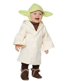 2016 Halloween costumes | baby Yoda Nate with boots
