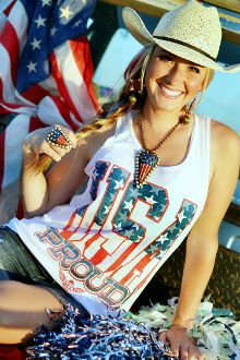 Ali Dee Collection - USA Proud Tank Top