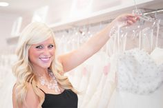 """Learn about a local bridal boutique that specializes in providing brides-to-be with an unforgettable slice of """"Bridal Heaven."""" Keep reading to learn more! #HydeParkBridal #cincychic #wedding"""
