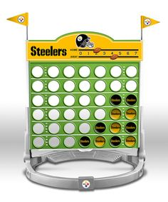 Pittsburgh Steelers Connect Four Game by NFL Collection @zulily.com