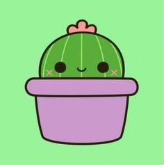 50 Ideen für Tattoo niedlichen Kaktus 50 ideas for tattoo cute cactus Cute Little Drawings, Cute Easy Drawings, Cute Kawaii Drawings, Cactus Drawing, Plant Drawing, Tumblr Stickers, Cute Stickers, Image Cactus, Cactus Cactus