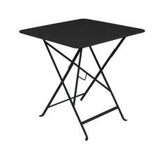Bistro 71 x 71 cm - Klapptisch - Mit Loch für Sonnenschirm | Fermob | Tisch