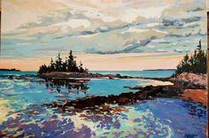 "Susan Graeber ""Seal Harbor Island Maine"""