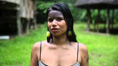 Girl lives in the Amazon urges not to kill the forest