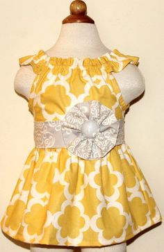 Ruffled Neck Party Dress for Babies Toddlers & Girls by thomaspark, $42.00