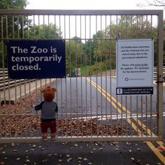 Usa Shutdown, the Zoo is temporarily closed (Reddit)