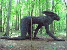 Imagine getting lost in the woods only to stubble across this...