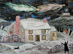 Holy Night, FelphamClick to share with someone by email [Pin It] William Blake's cottage in Sussex. A vision.