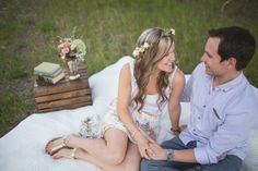 Victoria Anne Photography | summer engagement session