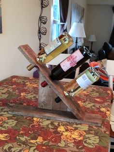 Classic Wine Rack made from upcycled pallets. by ZenUpCycled, $35.00