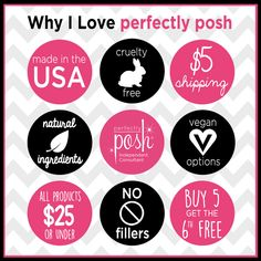 Why I love Perfectly Posh. #getposhwithteresa #perfectlyposh