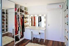 YoungMore: Inspiração de closet