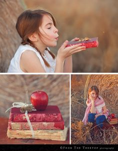 back to school … love the books & Apple shot. Would  be cute included in a photo collage.