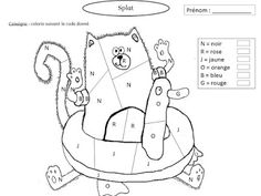 Click to see printable version of Splat the Cat Back to