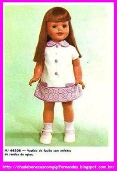 Boneca Andinha Estrela 1970 #Andinha # Estrela #IdealToys Talking Walking Goody Two Shoes