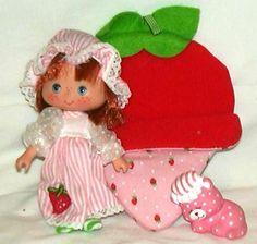Strawberry Shortcake and Custard sleep over series