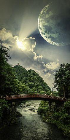 Unidos pela  beleza entre raios de sol e a lua Andrea Goodall - Forever
