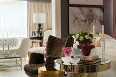 Casa de blogueira: Lala Rudge #decor #living #decoracao #sala #apartamentodecorado #encantadahome