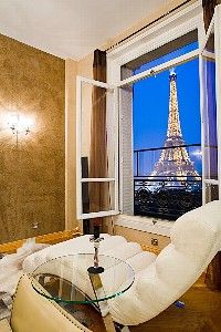 Paris vacation rental - unforgettable view! Uh - - hello . . Look at the Eiffel Tower out of your rental?!?!  YES PLEASE!