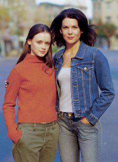 Pin for Later: 30 Fall Style Lessons We Learned From Gilmore Girls When in Doubt, Stick With Stylish Basics