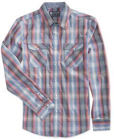 American Rag Men's Cormac Plaid Shirt, Only At Macy's