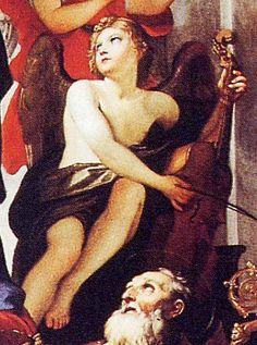 Historic cellist painting | Viola da gamba, viol, description, history, buy, sell, viole de gambe ...
