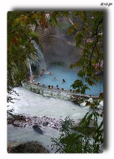 Thermal Pozar Baths, or Aridea's Baths, Pella, Macedonia, Greece Vacation Places, Dream Vacations, Pella Greece, Beautiful Islands, Beautiful Places, Macedonia Greece, Greece Travel, Greece Vacation, Travel Sights