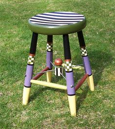 Reminds me of a time out stool I missed at a store one time.