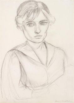 A PROMINENT 20TH CENTURY EUROPEAN COLLECTION December, 8th Henri #MATISSE (1869-1954) Buste féminin, 1919 Crayon sur papier Signé en bas à droite 36 x 25 cm Estimation : € 80,000-120,000