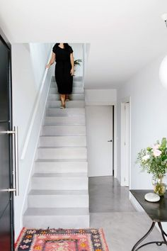 Staircases are a functional feature of many homes, but that doesn't mean they can't be beautiful. Homes with hand-turned banisters or sleek, modern steps give the entire space a personality. Whena staircase is treated to intuitive design,it has the potential to make a huge statement.We've seen gorgeous solid wood, metal spiral, concrete, minimalist and perfectly painted stairs come through the pages of Design*Sponge over the years, and we love seeing how a staircasecan immediately show gu...