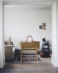 In the living room Nursery Room, Kids Bedroom, Newborn Bed, Cotton Baby Blankets, Baby Bassinet, Bassinet Cover, Baby Baskets, Nursery Inspiration, Kid Beds