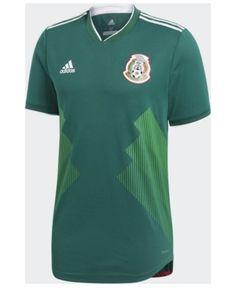 f9b7ccf29f3 adidas Mexico National Team Home Stadium Jersey
