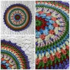 Mandala Crochet Decorative Table Mat (Etsy)...