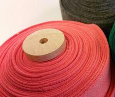"1"" Organic Cotton Quilt/Blanket Binding - Salmon"