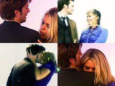 The Doctor & Rose.