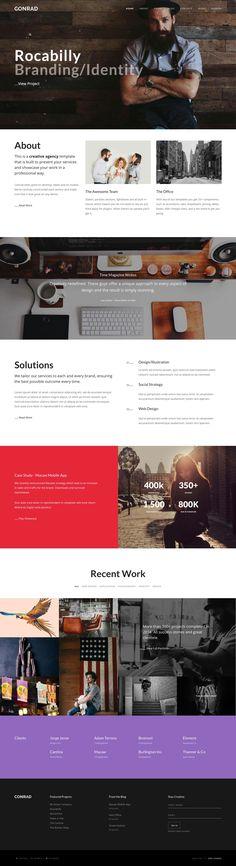 Conrad - Creative Multi-Purpose WordPress Theme | Download Theme: https://themeforest.net/item/conrad-creative-multipurpose-wordpress-theme/17826674?ref=sinzo