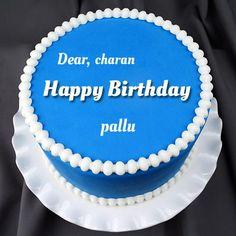 Marvellous Buttercream Happy Birthday Cake With Name