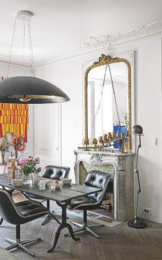 Dining room | Industrical chic | Decorative details | Statement lighting | Modern | Livingetc