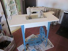 maquina de costura da mãe.