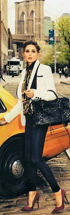 Fashionista woman..