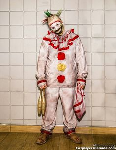 Twisty the clown by Rusty Sinner FX Horror Stories, Costumes, Halloween, Pictures, Photos, Dress Up Clothes, Fancy Dress, Grimm, Men's Costumes
