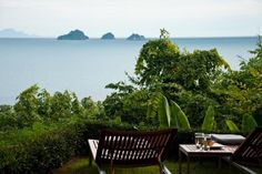 Overlooking the Gulf of Thailand from the luxury villa The Headland 4