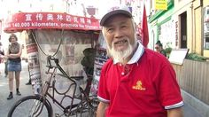BBC News - Man cycles across the world from China for London 2012~my hero, Chen Guanming, 60,000k in two years, over the freaking himalayas!  ~pulling a rickshaw!!!