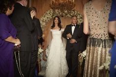 | Look Back at Amal and George Clooney's Gorgeous Wedding | POPSUGAR Celebrity Photo 1