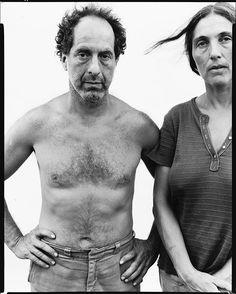 Richard Avedon, Robert Frank, photographer, June Leaf, sculptress, Mabou Mines, Nova Scotia, June 17, 1975