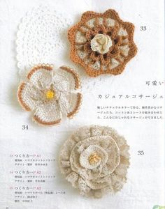BEAUTIFUL. its a google file in japanese but has illustrated crochet guide and photos so you know what goes with what.